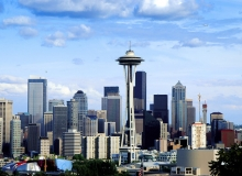 Seattle Skyline, Wikipedia, Public Domain