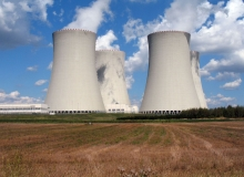 Cooling towers of a nuclear power station. Photo credit: Petr Kratochvil