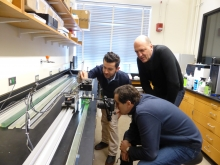 CSHub researchers conduct PVI experiment