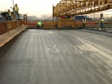 Concrete Paving Project, Stock Image
