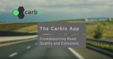 MIT Researchers have developed Carbin, an app that can crowdsource road quality and fuel consumption. They hope the app can revolutionize road maintenance by providing data that departments of transportation have never had access to.